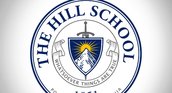 Custom Animated Logo The Hills School Small